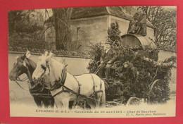 28 Epernon Cavalcade 1911 Le Char De Bacchus TB Animée éditeur Martin Maintenon Dos Scanné N°B11 - Epernon