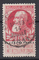 BELGIË - OPB - 1905 - Nr 74 - T2 L (SPRIMONT) - COBA + 8.00 € - 1905 Thick Beard