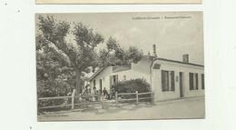 "33 - CANEJAN - Cp Rare Restaurant "" Cazeaux "" Animé Bon état - Otros Municipios"