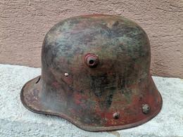 Coque De Stahlhelm Peinture Origine Cam - Headpieces, Headdresses