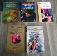 Lot De 5 Livres Romantiques - Wholesale, Bulk Lots