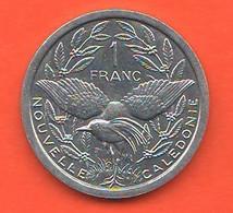 Nuova Caledonia 1 Franco One Franc 2002 New Caledonia Aluminum Coin - New Caledonia