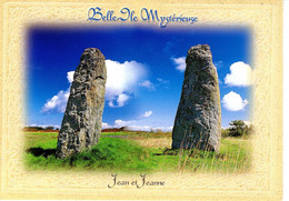 56 Morbihan Belle Ile En Mer Kerledan En Sauzon Menhir Jean Jeanne Histoire Patrimoine Edifice Nature - Belle Ile En Mer