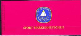 Berlin - Markenheft Sporthilfe  (MiNr: DSH-MH 1b) 1979 - Postfrisch - Booklets