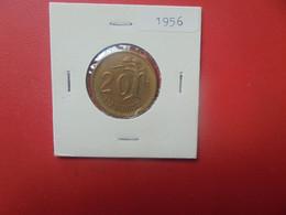 FINLANDE 20 MARKKAA 1956 TRES BONNE QUALITE (A.12) - Finland
