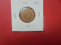 FINLANDE 20 MARKKAA 1960 TRES BONNE QUALITE (A.12) - Finland