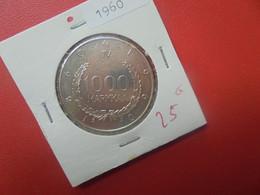 FINLANDE 1000 MARKKAA 1960 ARGENT TRES BONNE QUALITE (A.12) - Finland