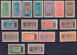 DV04(21) HAUT SENEGAL - NIGER     18/34  ** MNH   NR 19 ET 24 AVEC PETIT DEFAUT DANS GOMME - Used Stamps