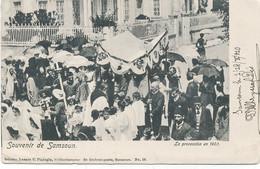 """TURQUIE - SAMSOUN  """"souvenir """"  La Procession En 1903 - Turchia"""