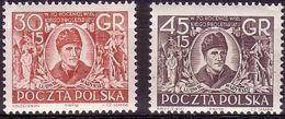 1952 Poland Mi 762 - 763 Socialist Organization Comunism L. Warynski, Proletariat Party Cz. Slania MNH** - Ongebruikt