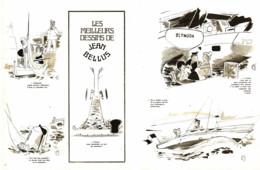"""""""  JEAN BELLUS  """" Les MEILLEURS DESSINS De  BELLUS 1973  ( 2 ) - Sonstige"""