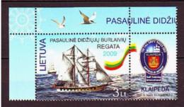 2009. Lithuania. Sailing Ships. MNH. Mi. Nr. 1018. - Lituanie