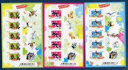 ⭐ France - Autoadhésif - YT N° F 271 à 273 - Neuf Sans Charnière - 2009 ⭐ - Adhesive Stamps