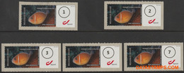 België 2011 - Mi:Autom 74, Yv:TD 84, OBP:ATM 131A Set, Machine Stamp - XX - Acon Linotype - Postage Labels