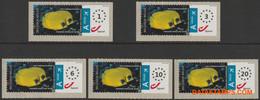 België 2011 - Mi:Autom 75, Yv:TD 85, OBP:ATM 132A Set, Machine Stamp - XX - Acon Europe - Postage Labels