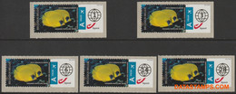 België 2011 - Mi:Autom 75, Yv:TD 85, OBP:ATM 132A Set, Machine Stamp - XX - Acon World - Postage Labels