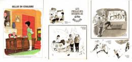 """"""" BELLUS COLOR """" + """" Les MEILLEURS DESSINS De BELLUS """" 1973  ( 1 ) - Sonstige"""