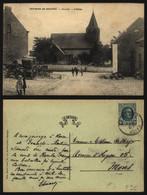 Carte Postale - Environs De Genappe - Glabais - L'église - Genappe