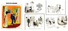 """"""" BELLUS COLOR """" + """" Les MEILLEURS DESSINS De BELLUS """" 1973  ( 2 ) - Sonstige"""