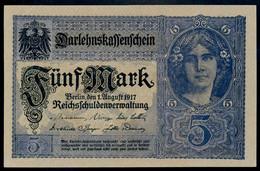 P56a - Ro54a - DEU-61a.  5 Mark 1917 UNC - 5 Mark