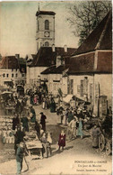 CPA PONTAILLER-sur-SAONE Un Jour De Marche (611440) - Altri Comuni