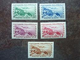 1938  Centenaire De Philippeville     Y&T=  142 / 146   ** MNH - Ungebraucht
