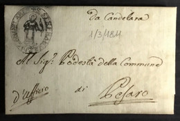 1811 CANDELARA X. PESARO - 1. ...-1850 Prephilately
