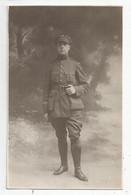 Carte Photo  Militaire Belge écrit  Paris Le 18/11/1918 - Uniformen