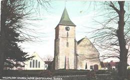 United Kingdom:Sussex, Willington Church, Near Eastbourne, Pre 1940 - Chiese E Cattedrali