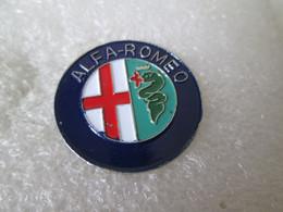 PIN'S    LOGO    ALFA ROMEO  Ø 21mm   YOSHINORI - Alfa Romeo
