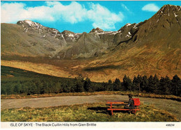 Isle Of Skye - The Black Cuillin Hills From Glen Brittle, England - Unused - Inverness-shire
