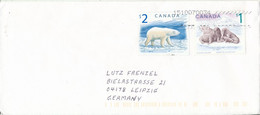 Canada Cover Sent To Germany 15-10-2007 Polar Bear And Atlantic Walrus - Covers & Documents