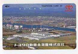 JAPON TELECARTE USINE TOYOTA - Voitures