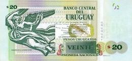 URUGUAY P. 93 20 P 2015 UNC - Uruguay