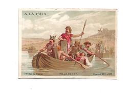 Chromo - Grands Magasins A La Paix - Pharamond - 1er Roi De France - Altri