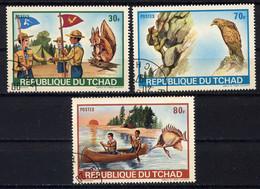 TCHAD  -  258/260° - JAMBOREE - Tsjaad (1960-...)