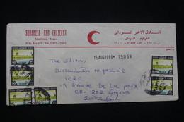 SOUDAN - Enveloppe Du Croissant Rouge De Khartoum Pour La Suisse En 1990 - L 93356 - South Sudan