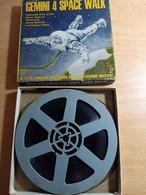 BOBINE DE FILM 8 Mm- GEMINI 4 SPACE WALK-AUTHENTIC FILM DES ASTRONAUTES JAMES MC DIVITT-EDWARD WHITE. - 35mm -16mm - 9,5+8+S8mm Film Rolls