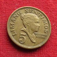 Philippines 5 Sentimos 1970 KM# 197 *V2  Filipinas Pilipinas Fillippijnen - Philippines