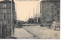 A/48           93     Saint Ouent      Rue De La Chapelle - Le Passage à Niveau - Saint Ouen