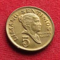 Philippines 5 Sentimos 1972 KM# 197 *V2  Filipinas Pilipinas Fillippijnen - Philippines