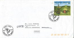 Belgium Cover Sent To Germany 24-9-1994 Special Postmark Single Franked - Storia Postale