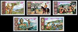 WALLIS ET FUTUNA 1969 - Yv. PA 33 à 37 **   Cote= 45,80 EUR - Aspects Des îles (5 Val.)  ..Réf.W&F23153 - Unused Stamps