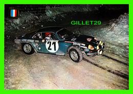 SPORT AUTOMOBILE RALLYE - No 8 SERIE AUTOMOVILES RALLYE - ALPINE RENAULT A 110 - CILINDRADA 1800cc POTENCIA 175CV - - Rally Racing