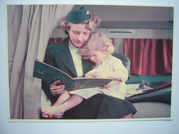 Avion / Airplane / KLM / Douglas DC-6 / Air Hostess / Children In Flight - 1946-....: Modern Era