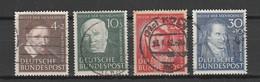 GERMANIA  BUND Us 1951    MI 143-46  -  Annullo Originale    -  Vedi  Foto  ! - Gebraucht