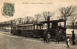 YVELINES - 78 - LE PECQ - La Station Des Tramways - Le Pecq