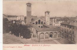 1805) MILANO - Mailand - Basilica Di S. AMBROGIO - Tolle LITHO - - Milano