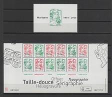 FRANCE 2013-2014 - Feuille Multitechnique Surchargée - Bande 12 Timbres Coin Daté Bas De Feuille 4774BB + Timbre 4774B - 2013-... Marianne (Ciappa-Kawena)