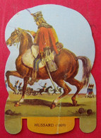 Plaque Découpée Soldats De L'empire Offerte Par Les Fromages Mère Picon. Vers 1960. N° 24 - Plaques En Tôle (après 1960)